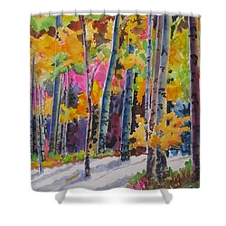 Nature's Glory Shower Curtain by Mohamed Hirji