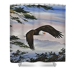 Natures Grandeur Shower Curtain by James Williamson