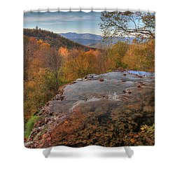 Nature's Infinity Pool Shower Curtain
