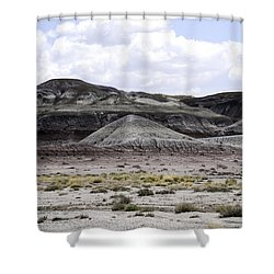 Natures Palette Shower Curtain by Judy Hall-Folde