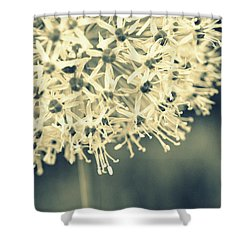 Nature's Popcorn Ball Shower Curtain