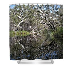 Natures Portal Shower Curtain