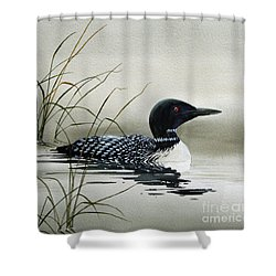 Nature's Serenity Shower Curtain