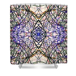 Intuition's Intent Shower Curtain