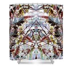 Galactic Nation Shower Curtain