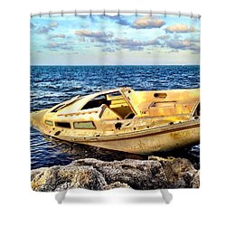 Naufragio  Shower Curtain