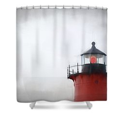 Nauset Lantern And Catwalk Shower Curtain