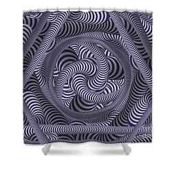 Nautical Coloured Design Shower Curtain