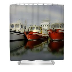 Shower Curtain featuring the photograph Nautical by Sonya Lang