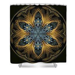 Nautical Star Shower Curtain by Cindi Ressler