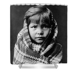 Navajo Child Shower Curtain by Aged Pixel