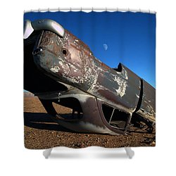 Navajo Reservation 10 Shower Curtain by Jeff Brunton