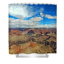 Near Perfect Day Shower Curtain by Dave Files