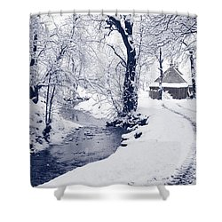 Shower Curtain featuring the photograph Nearly Home by Liz Leyden