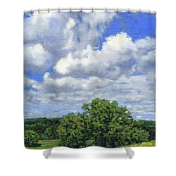 Nearly September Shower Curtain by Bruce Morrison