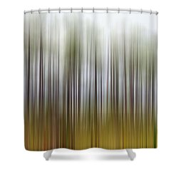 Nearly Spring Shower Curtain by Jan Amiss Photography