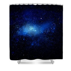 Nebula Ceiling Mural Shower Curtain by Frank Wilson