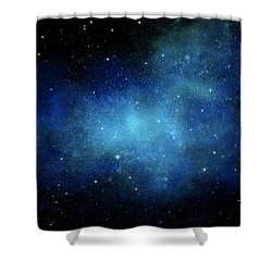 Nebula Mural Shower Curtain
