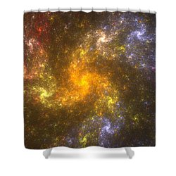 Nebula Shower Curtain