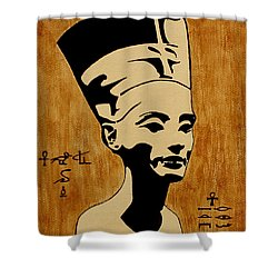 Nefertiti Egyptian Queen Original Coffee Painting Painting