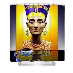 Nefertiti  The  Beautiful Shower Curtain
