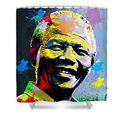 Nelson Mandela Madiba Shower Curtain