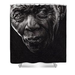 Nelson Shower Curtain by Paul Davenport