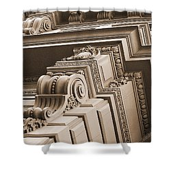 Neo-classical Architecture Shower Curtain