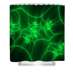 Neon Fantasy Shower Curtain