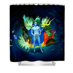 Neptune/poseidon Shower Curtain