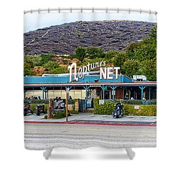 Neptune's Net Shower Curtain