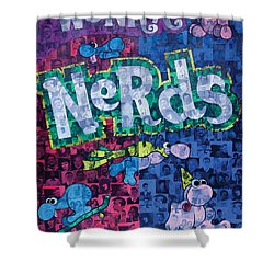 Nerds Shower Curtain