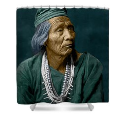 Nesjaja Hatali - Navaho Shower Curtain by Rick Mosher