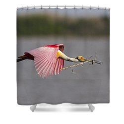 Nest Material Shower Curtain