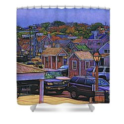 Nestling Nantucket Shower Curtain