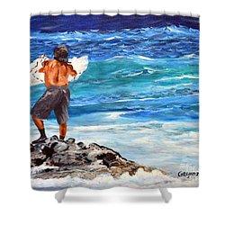 Net Fishing Shower Curtain