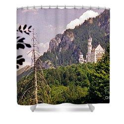 Neuschwanstein Castle Shower Curtain by Halifax Artist John Malone