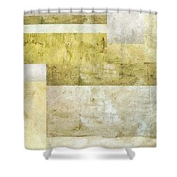 Neutral Study No. 5 Shower Curtain by Michelle Calkins
