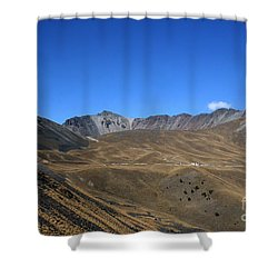 Nevado De Toluca Mexico Shower Curtain