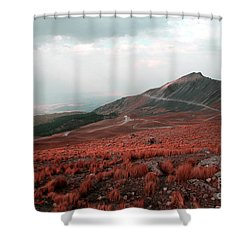 Nevado De Toluca Mexico II Shower Curtain
