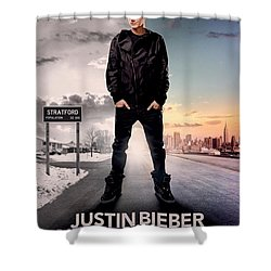 Never Say Never 1 Shower Curtain by Movie Poster Prints