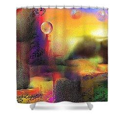 Neverland Shower Curtain by Francoise Dugourd-Caput