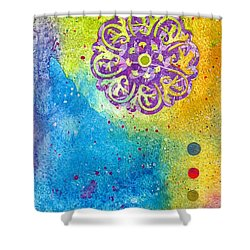New Age #7 Shower Curtain