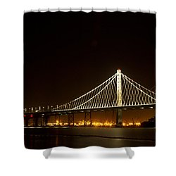New Bay Bridge Shower Curtain
