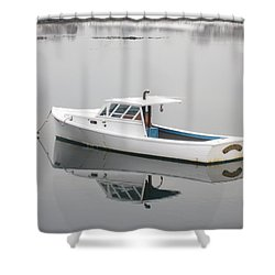 New Castle Bay Shower Curtain