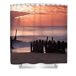 New Day Dawning Shower Curtain