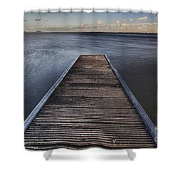 New Horizon Shower Curtain