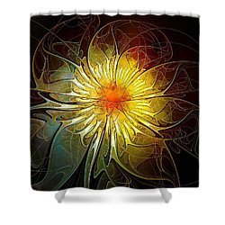 New Life Shower Curtain by Amanda Moore