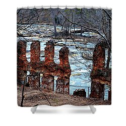 New Manchester Manufacturing Company Ruins Shower Curtain