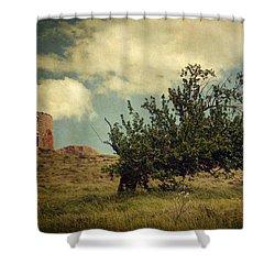 New Memories Shower Curtain by Taylan Apukovska